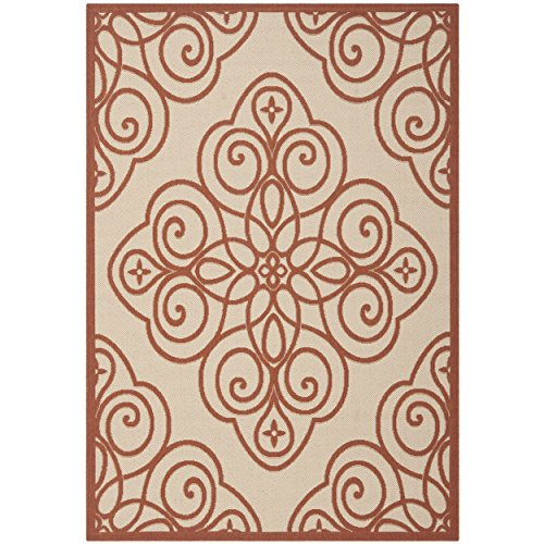 - Safavieh Martha Stewart Collection MSR4244-231 Cayenne Area Rug (8' x 11'2