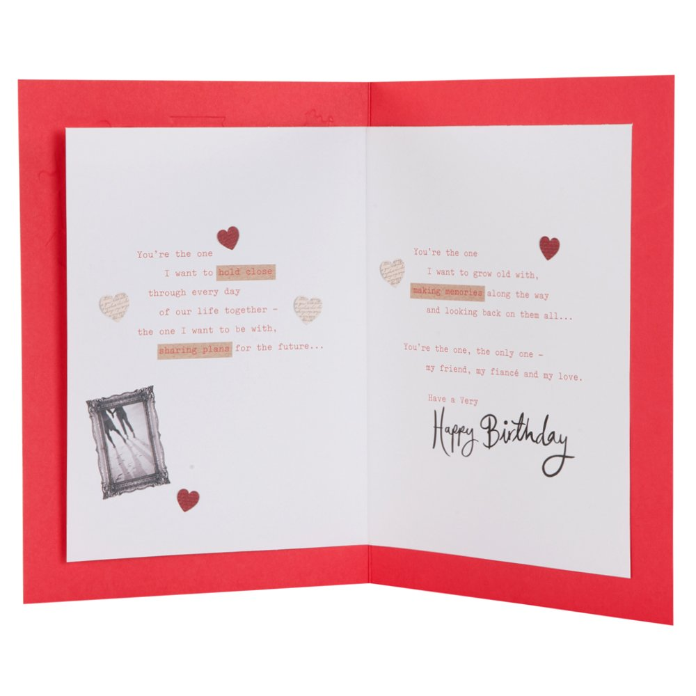 Hallmark Birthday Card For Fianc My Friend My Love Medium
