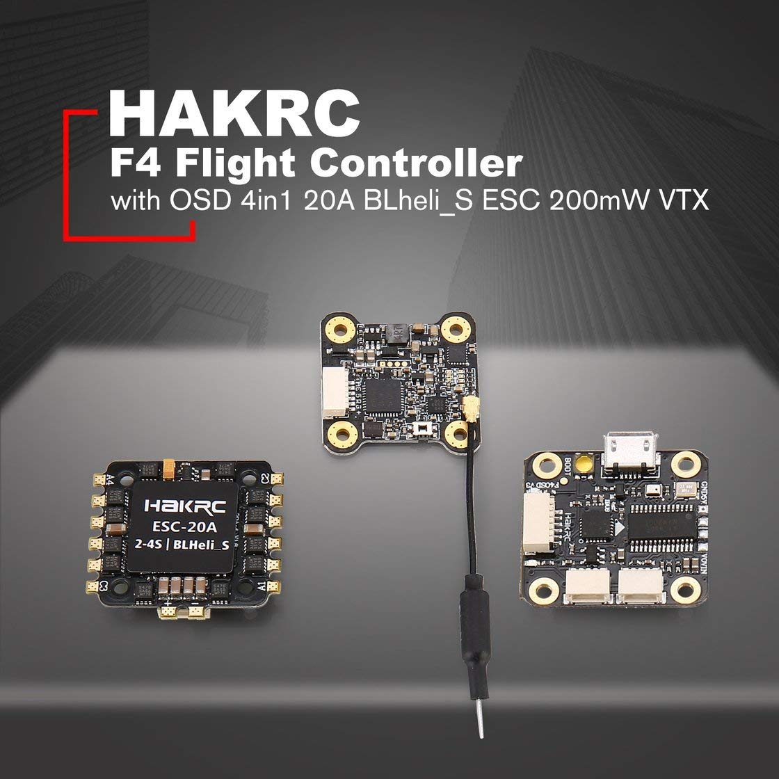 Con Blackpjenny Betaflight Flight Osd Tower Controller F4 Hakrc Bec kPwOn8N0X