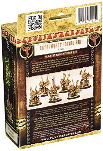 Privateer Press - Hordes - Skorne: Cataphract Incindiarii Model Kit 4