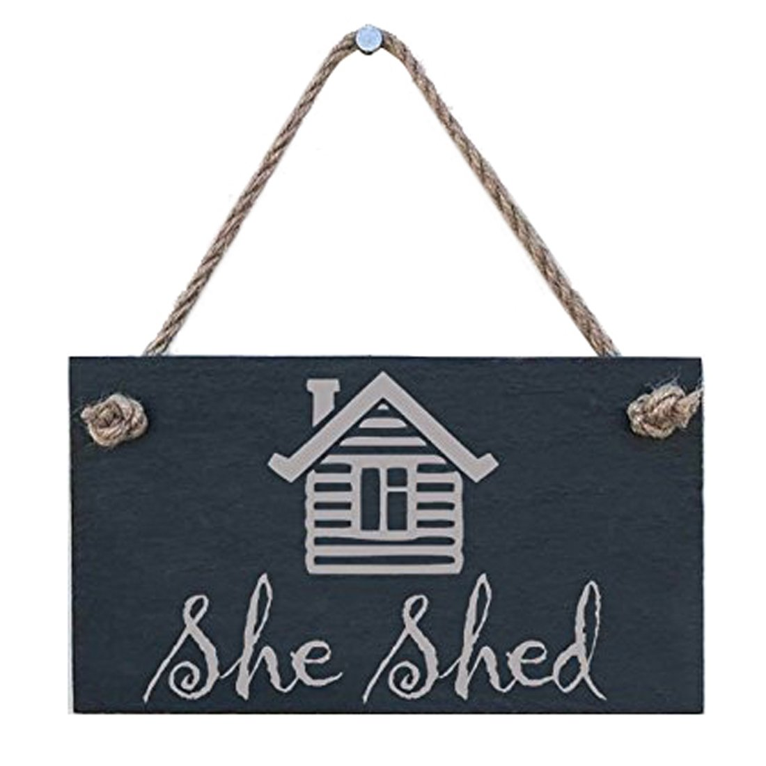 House Wood Hanging Sign By meijiafei