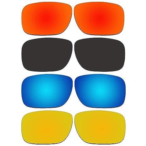 Amazon.com: 4 par de lentes de repuesto para Oakley Holbrook ...