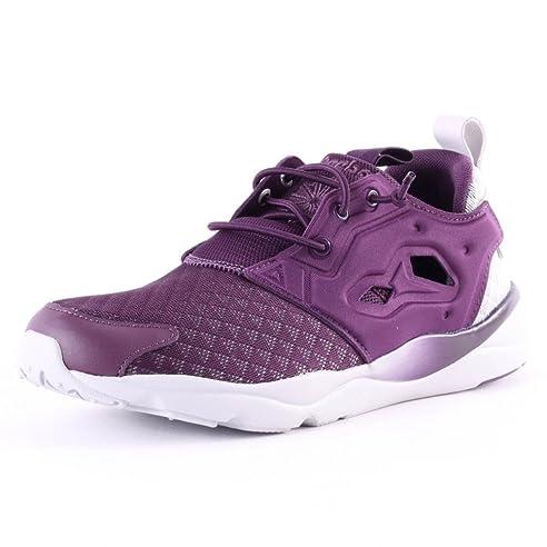 3030d9cc1aa REEBOK FURYLITE SHEER Lila Damen Sneakers Schuhe Neu  Amazon.de  Bekleidung
