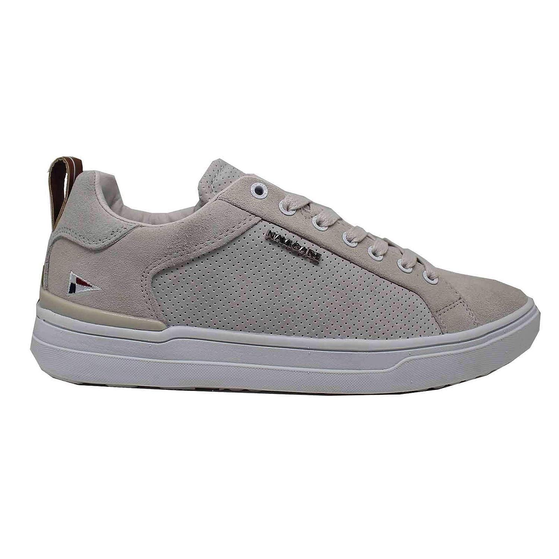 Acquista Navigare - Sneakers Scarpe Uomo Basse 918304 Ghiaccio - 40, Bianco miglior prezzo offerta