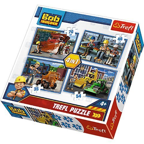 Bob the Builder 4 In A Box Puzzles Ages 5+