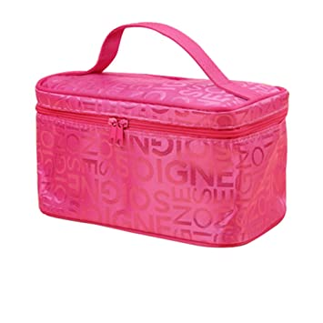 2451d9e16bca Portable Cheap Makeup Bags Small With Mirror Cosmetic Bag Travel Storage  Bags Toiletry Bag...