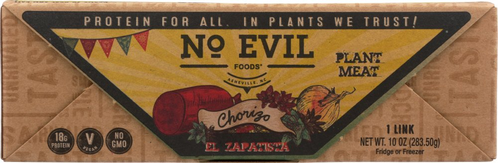 Amazon.com : No Evil, Chorizo Mex El Zapatista, 10 Oz : Grocery & Gourmet Food