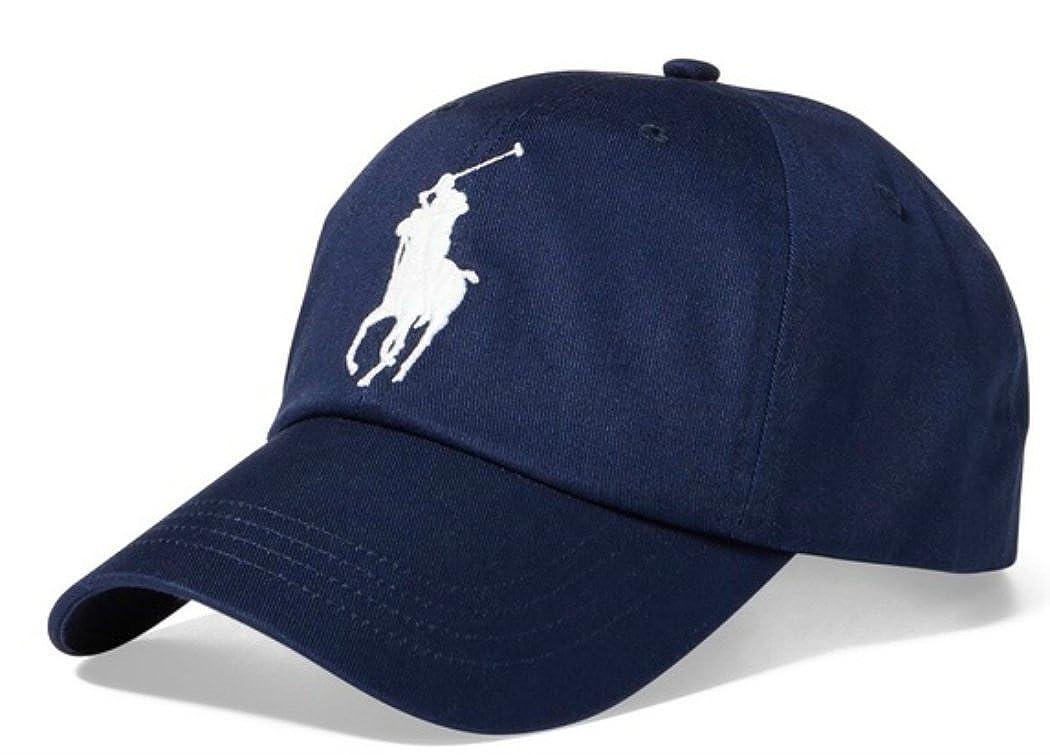 a7688f87e4981 RALPH LAUREN Polo Ralph Lauren Men Big Pony Logo Hat Cap One Size (Hol  Navy) at Amazon Men s Clothing store