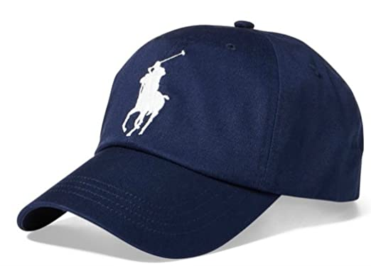 f3f3fe774500a Image Unavailable. Image not available for. Color  RALPH LAUREN Polo Ralph  Lauren Men Big Pony Logo Hat Cap ...