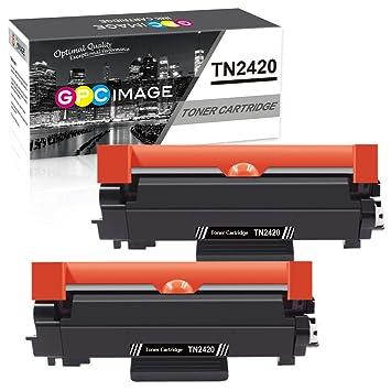 GPC Image TN2420 TN-2420 Cartuchos de tóner Compatible para TN2410 ...