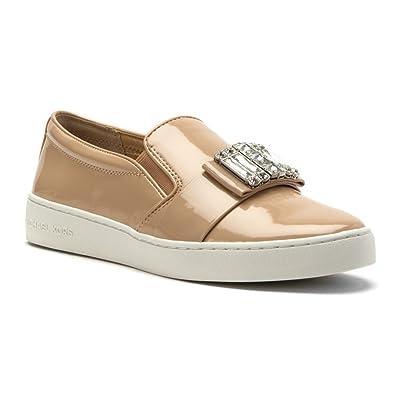 MICHAEL Michael Kors Womens Michelle SlipOn Light Blush Patent Sneaker  65 M