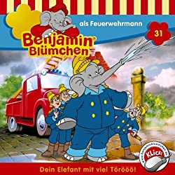 Benjamin als Feuerwehrmann (Benjamin Blümchen 31)