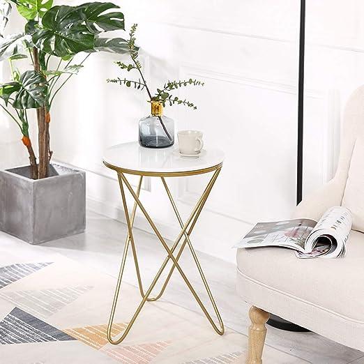 Anyer Table Sofá Moderno Mesa Auxiliar Pequeña Mesa de té Estantes ...