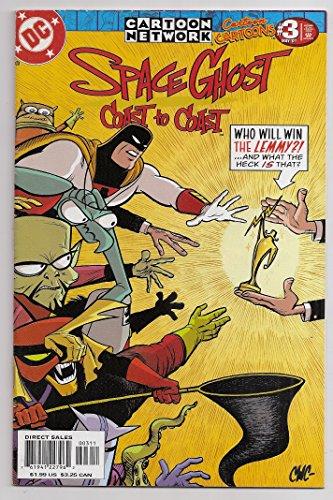 Cartoon Cartoons #3 Space Ghost Coast to Coast Cartoon Network 2001 Dc Comics