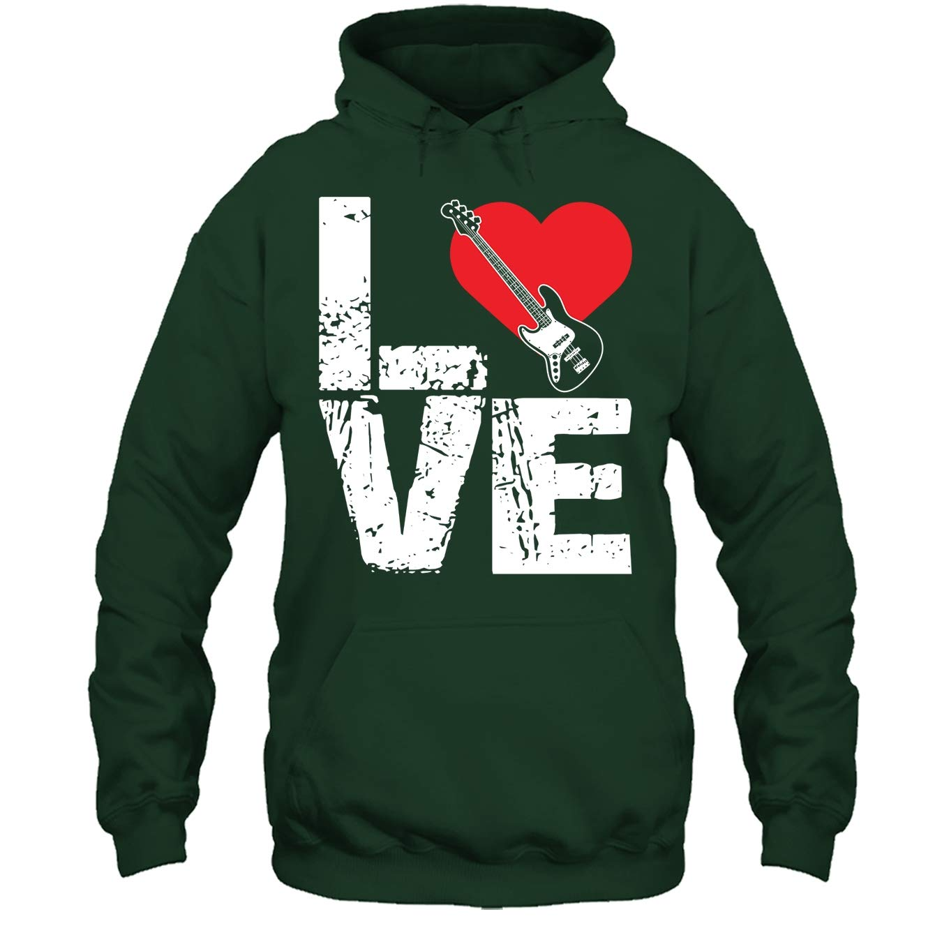 Love Bass Guitar T Shirt Design Bass Guitar Cool Tshirt