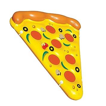 Desconocido Juguetes Playa Piscina Tomar el Sol Pizza Inflable Niños Adulto Explosión Fiesta