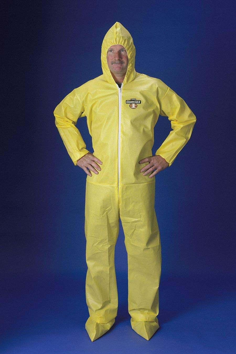 Hooded ChemMax(R) 1, Yellow, Boots, XL by Lakeland