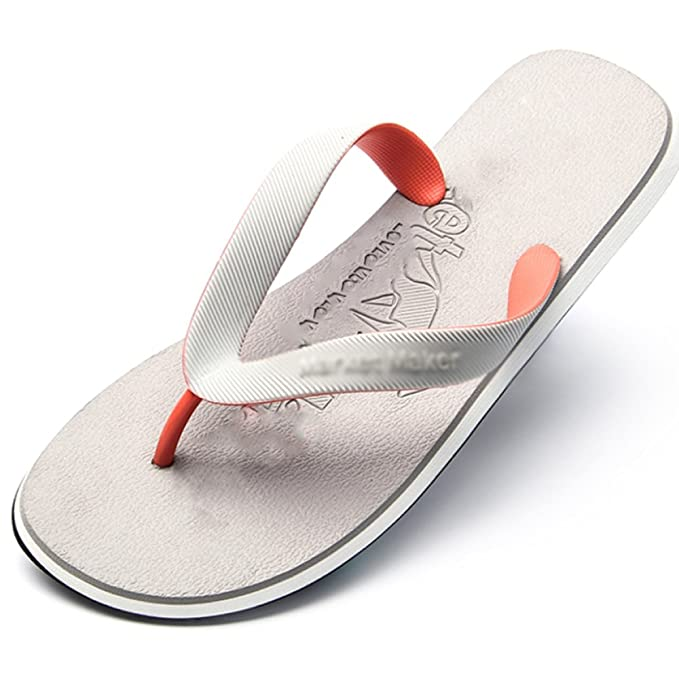 c56b89c3fed MHSXN Sandalias De Playa Zapatillas De Baño Negras Para Hombres Sandalias  De Tiras Sandalias De Ocio