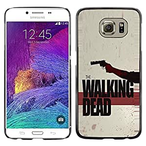 Design for Girls Plastic Cover Case FOR Samsung Galaxy S6 The Walking Zombies OBBA