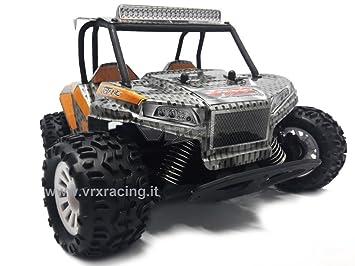 Desert Truck Octane 1/18 motor eléctrico de escobillas rc-370 4 WD RTR Radio 2.4 GHz VRX: Amazon.es: Juguetes y juegos
