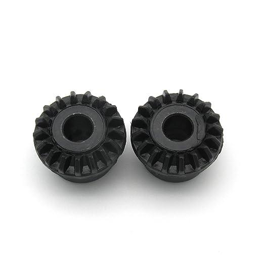kunpeng - para Singer máquina de coser gancho rotatorio Bevel Gear # 103361 2pcs: Amazon.es: Hogar