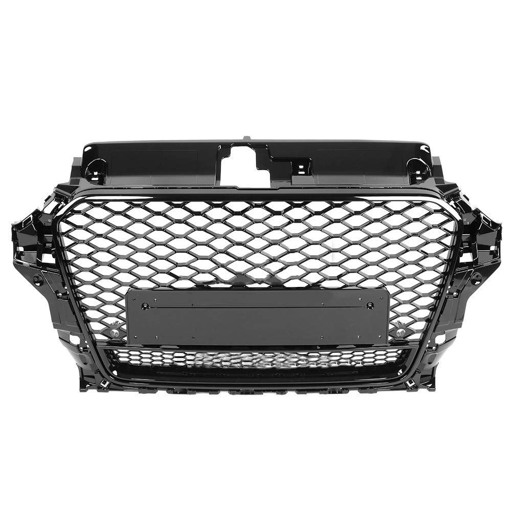 Griglia paraurti in ABS nera per RS3 A3 S3 8V 13-16