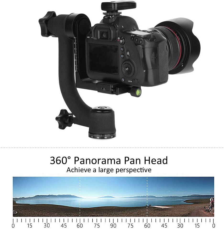 Boquite Tripod Ball Head 360 Degree Panoramic Gimbal Tripod Ball Head Mount for Camera Telephoto Lens