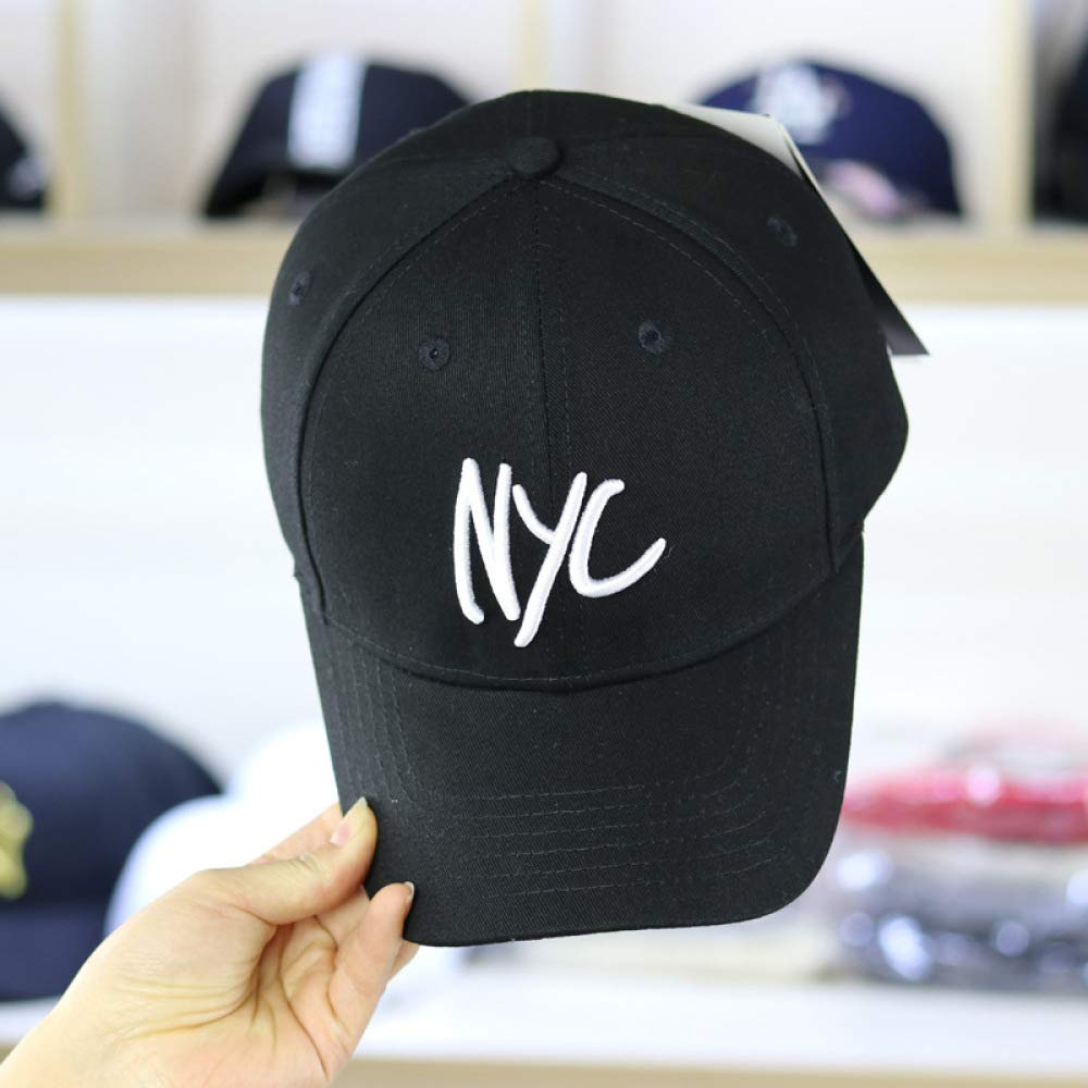 woyaochudan Hipster Salvaje Hip Hop Sombrero Femenino NYC Letra ...