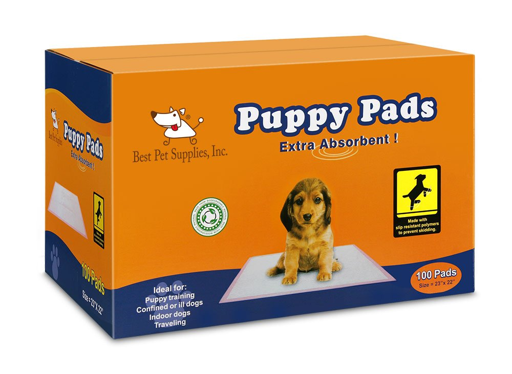 Pink Pack of 100 Pink Pack of 100 Best Pet Supplies BPS-Premium Puppy Training Pad-100 Pcs, Pink