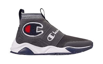 ed5aba8271404 Champion Boy s Rally Pro Big C Knit Sock Top Sneaker