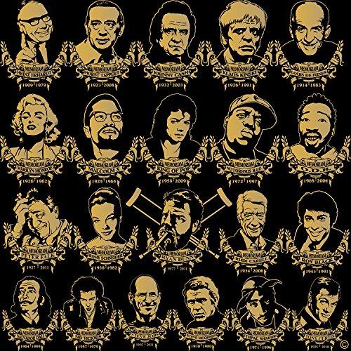 In Memoriam Eazy–Equipo e–Fun Bolsa Tote Bag Funda de algodón wizuals dorado