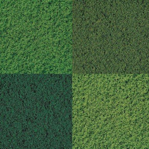 Fine flock set - 4 colours by Busch