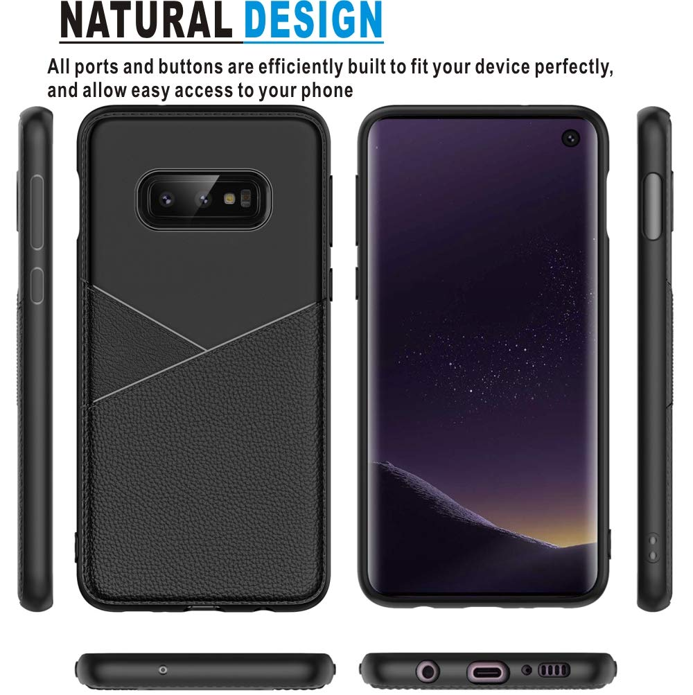 Samsung Galaxy S10e Case, HNHYGETE Soft Slim Shockproof Anti-Fingerprint Full Protective Phone Cases for Samsung Galaxy S10 Lite (Galaxy s10e/s10 lite case)