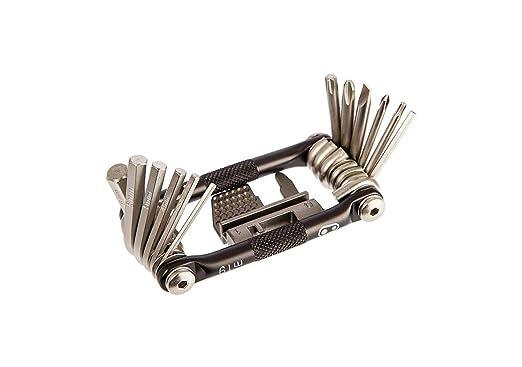 with M19 Multi Tool and Klic HV Mini Pump Kit Level 10 ABUS Bordo Alarm Plus 6000A//90cm Folding Bike Lock
