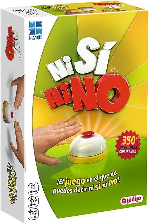 Lúdilo Ni Si Ni No COMPAC - Juego de preguntas: Amazon.es: Juguetes y juegos