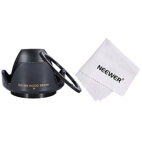 Neewer 90083624 - Grafico de Rosca Parasol para cámaras réflex ...