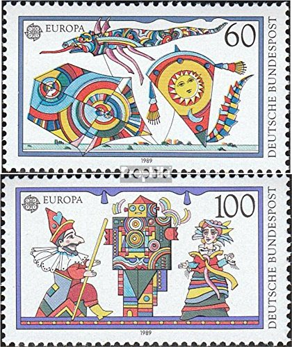 FRD (FR.Germany) 1417-1418 (Complete.Issue) 1989 Kids Games (Stamps for Collectors)