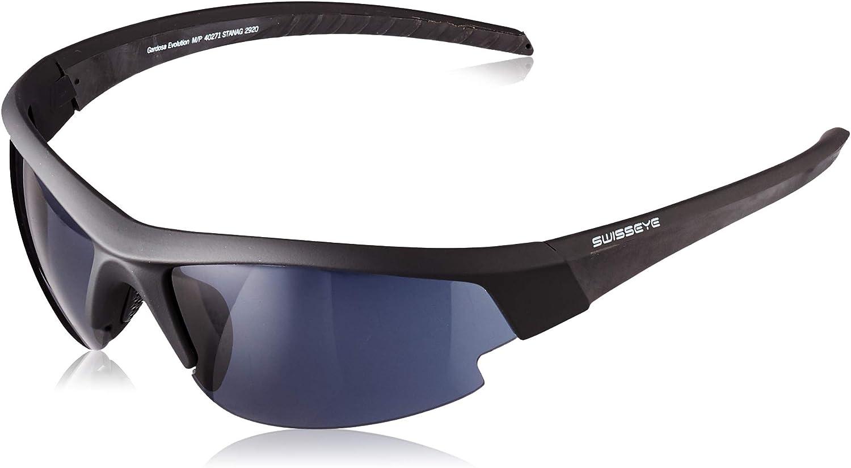 Swiss Eye 40271 Gardosa Evolution M/P - Gafas de protección (Talla M/L), Color Negro
