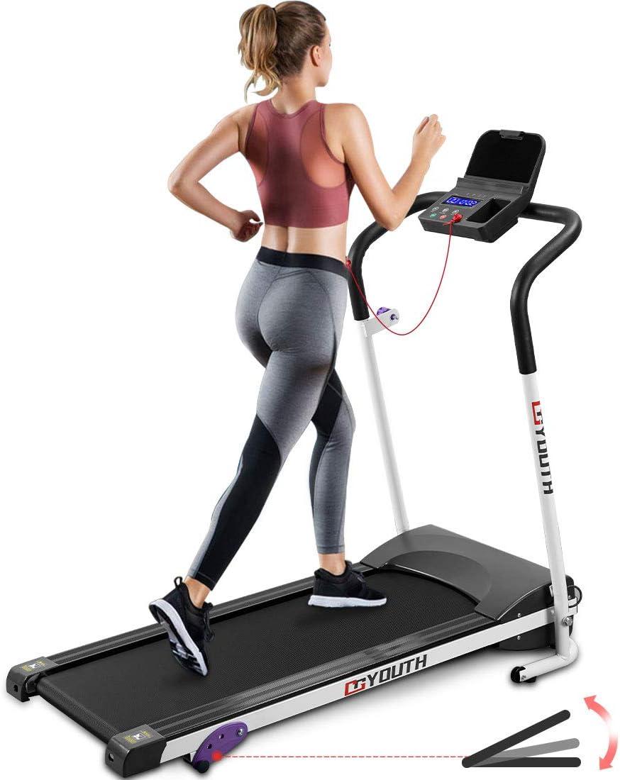 Goyouth Folding Treadmill 2.25HP Electric Motorized Running Exercise Machine
