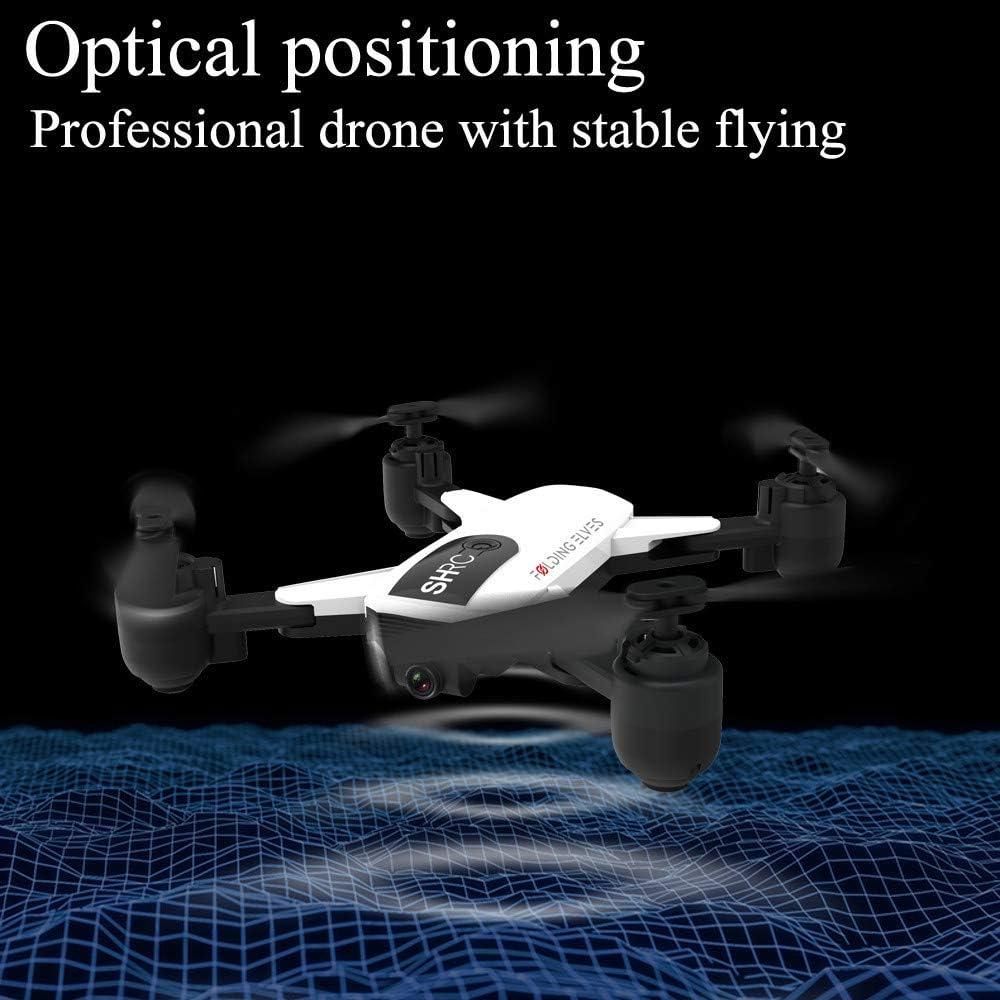 redreamsky Drone SHRC H1 5G Selfie WiFi FPV 1080P C/ámara HD Plegable RC Quadcopter Posicionamiento GPS Follower Inteligente Negro