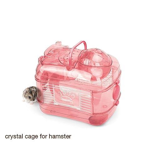 Pet Online Hamster deportes jaula de cristal de doble hámster ...