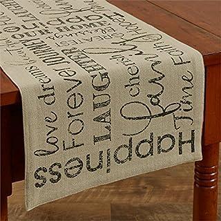 """Park Design Table Runner (13"""" X 36"""", Dover)"""
