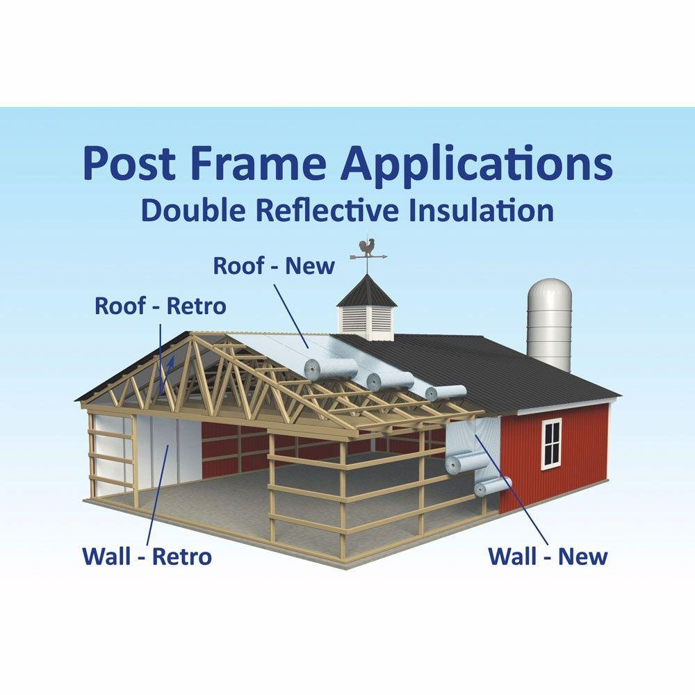 48 in. x 100 ft. Double Reflective Insulation