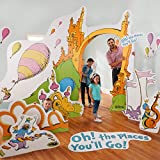 Dr. Seuss Oh The Places Youll Go Life Size Cardboard Party Prop Photo Stand Up Decoration