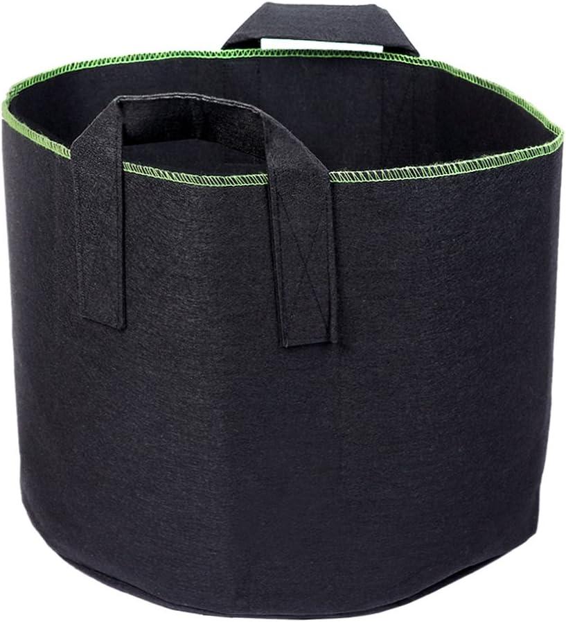 Schramm Pack of 10/Garden Plant Fleece Fabric Bags Bag 60/Litres Fleece Fabric Planter Planter Pot to Grow Planter Bag