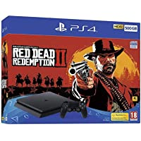 Sony Play Station 4 Console 500GB With Red Dead Redemption 2 (PS4)