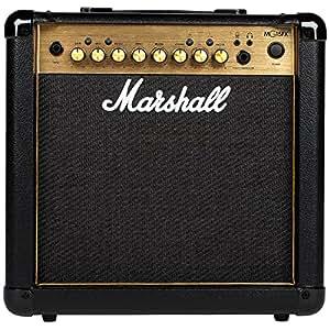 Marshall mg15gfx Amplificador de Guitarra Combo DORADO: Amazon.es: Instrumentos musicales