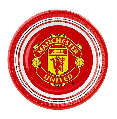 official-manchester-united-football-club-10-pack-glossy-paper-party-plates-23cm