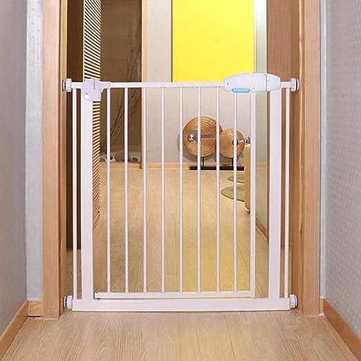 HFYAK Simplemente Extra Alto Puerta Metal Seguridad Barrera Efectiva para Mascotas para Mascotas con Extensiones Disponibles Instalar En Cualquier Lugar Valla ...