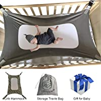 Baby Hammock for Crib Mimics Womb Newborn Bassinet Upgraded Safety Measures Infant Nursery Travel Bed Reduce Environmental Risks Associated with Early Infancy Baby Shower Gifts